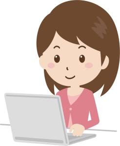 女子パソコン